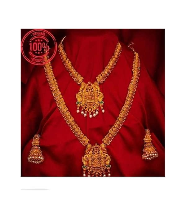 04-P-1113234-g - Beautiful Ethnic Gold Plated and Matte Finish Tem