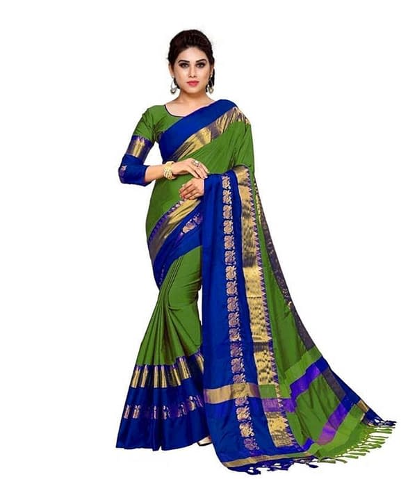 02-s-4428498-m-Jivika Attractive Sarees-Trendy Women Heavy Fashionable Cotton a