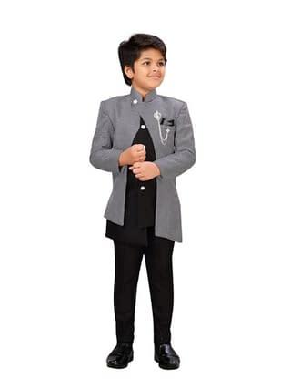Modern Elegant Kids Boys Sherwanis