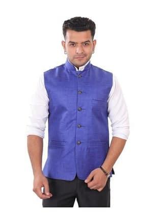 Divine Elegant Trendy Fine Jute Men's Jackets
