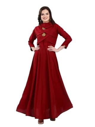 Ariya Gorgeous Rayon Slub Women Gowns Vol 2
