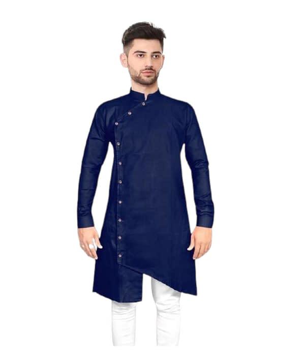 01-s-8229242-m - Elegant Ethnic Cotton Solid Men's Kurtas