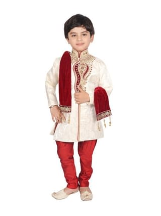 Princess Comfy Kids Boys Sherwanis
