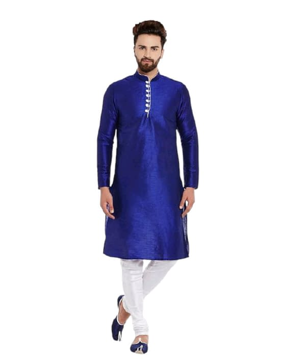 02-s-952889-m - Men's Ethnic Fancy Kurta Pyjama Sets Vol 3