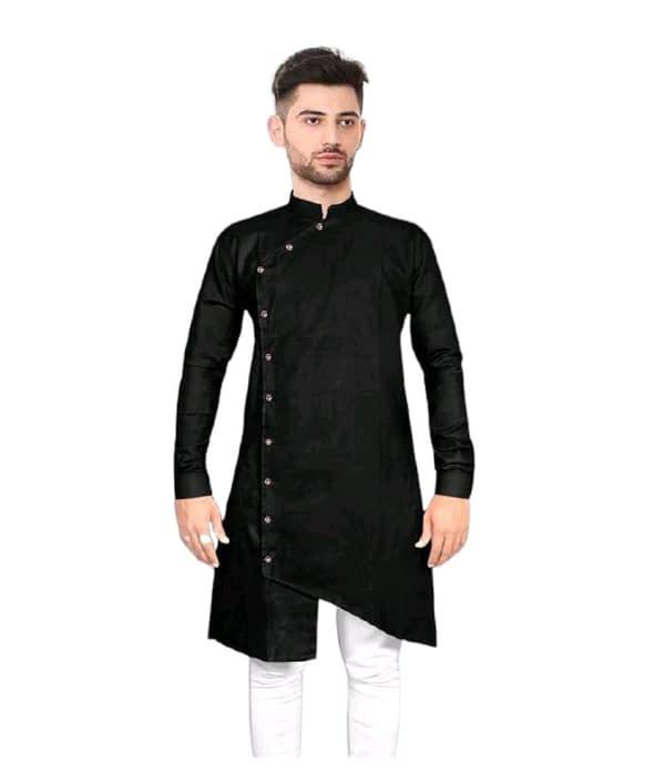 02-s-9229242-m - Elegant Ethnic Cotton Solid Men's Kurtas