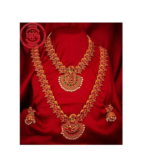 05-P-7113224-g - Beautiful Ethnic Gold Plated and Matte Finish Tem