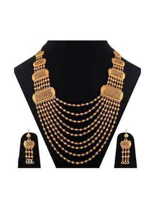 Beautiful Designer Gold Plated Ethnic Jewellery Set
