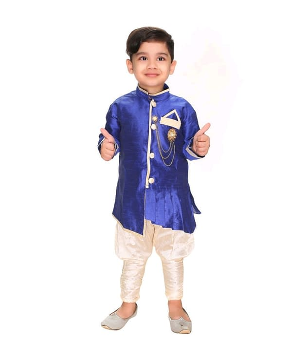 03-s-4101667-m- Cute Comfy Kids Boys Sherwanis