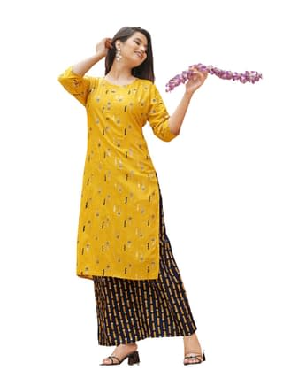 01-s-4393437-m - Aishani Voguish Women Kurta Sets 01