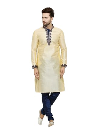 Men's Ethnic Fancy Jacquard Kurta Sets Vol 5