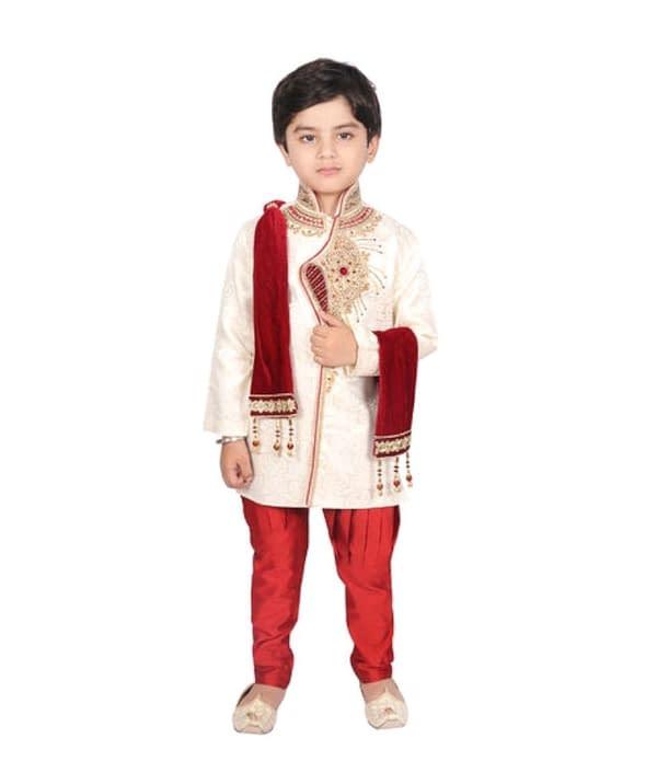 04-s-8401577-m- Cute Elegant Kids Boys Sherwanis