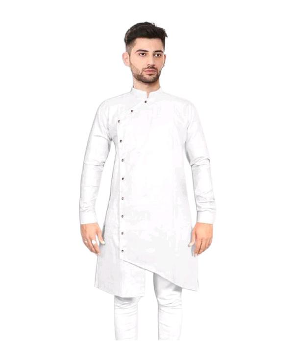 05-s-0229252-m - Elegant Ethnic Cotton Solid Men's Kurtas