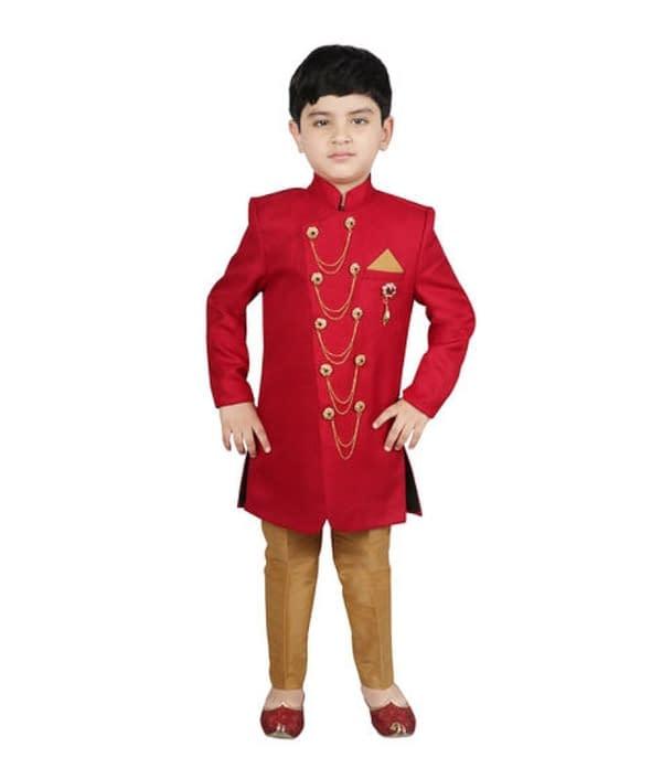 01-s-6401577-m- Cute Elegant Kids Boys Sherwanis
