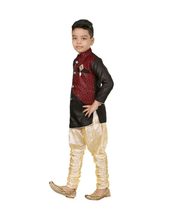 03-s-5411999-m- Awsome Stylish Kids Boys Sherwanis 02