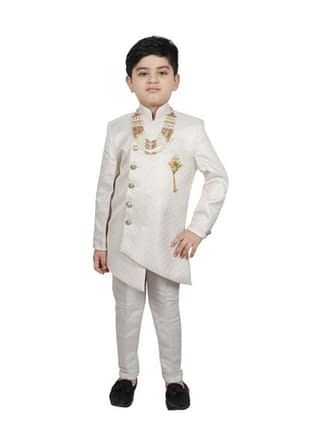 Agile Stylish Kids Boys Sherwanis