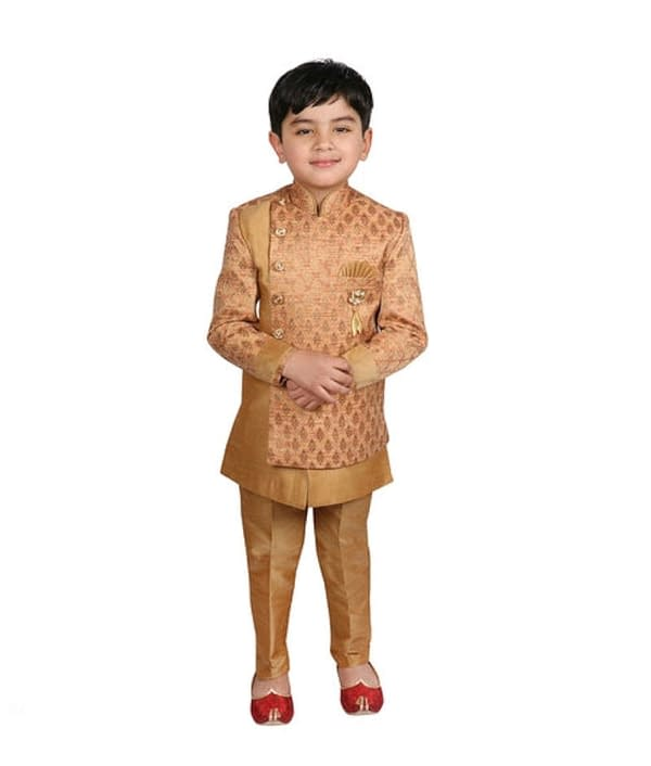 07-s-9401577-m- Cute Elegant Kids Boys Sherwanis
