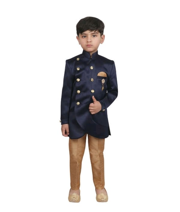03-s-3401577-m- Cute Elegant Kids Boys Sherwanis