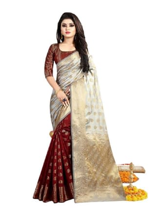 Hamesha Pretty Banarasi Silk Sarees Vol 5