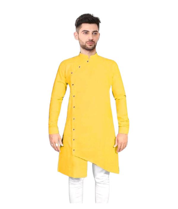 03-s-7229242-m - Elegant Ethnic Cotton Solid Men's Kurtas